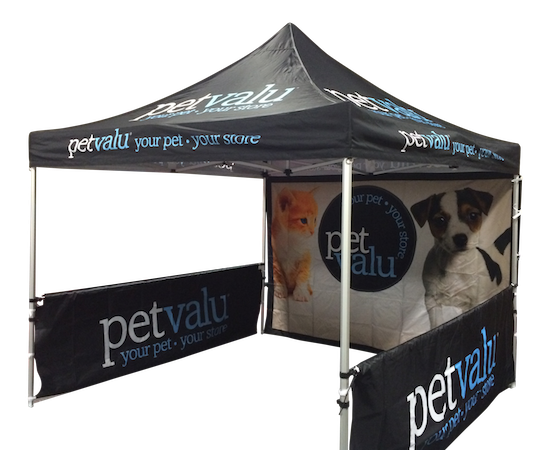 Advertising Tent Package with walls