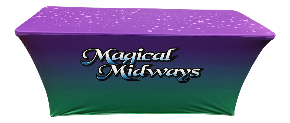 Stretch Table Cover Magical Midways