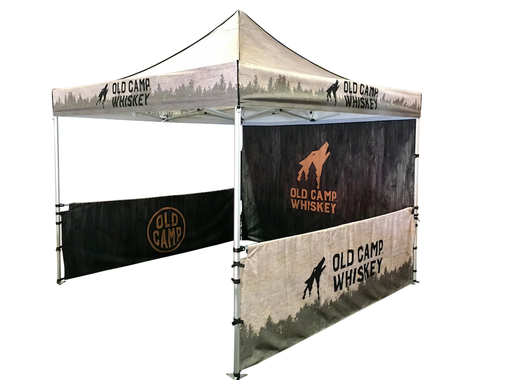 Event Tent Custom Printed 10x10
